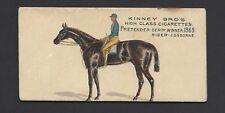 KINNEY - FAMOUS RUNNING HORSES (ENGLISH) - PRETENDER