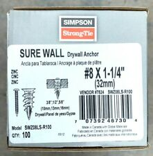 3 Pack WallClaw Anchors SDWH19400DB-RC12 50Pk
