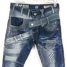 Mens Japrag JP2131 Dark Blue Men Jeans size 29 Multi Pockets Designer Samoki