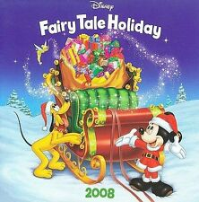 """Disney Fairy Tale Holiday - 2008 CD Collection Includes World Premier Song """" Tin"""