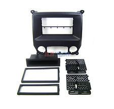 Radio Replacement Dash Kit 1 or 2-DIN w/Pocket for Chevrolet/GMC Black Satin