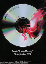 SUEDE 2002 A NEW MORNING SWEDEN PROMO POSTER