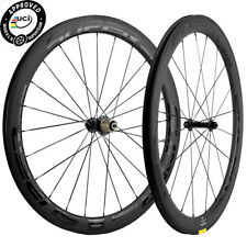 50mm Clincher 25mm Width Bicycle 700C Wheels Carbon Wheel Set Racing Bike Wheels