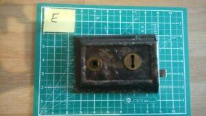 Victorian Edwardian rim lock fully working restored