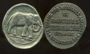 BARCIDES  tetradrachme      III  av JC    COLLECTION BP