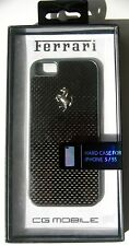 Official Ferrari Licenced Carbon Fiber Effect Hard Case for iPhone 5 / 5S / SE