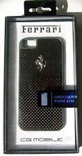 Official Ferrari Licenced Carbon Fiber Effect Hard Case for iPhone 5 / 5S / SE
