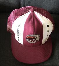 Vintage Jacksonville Bulls Snapback Embroidered Logo Truckers Cap Mesh Hat USFL