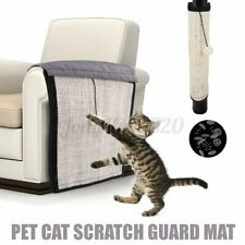 Pet Cat Claw Scratch Guard Mat Sisal Hanging Furniture Protector Toy Board Pad