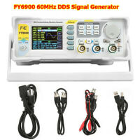 FY6900 DDS Signal Generator Dual-Ch Arbitrary Waveform Pulse 2 Channel 60MHz US