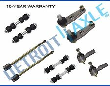 Brand New 10pc Complete Front and Rear Suspension Kit for 1991-2002 Ford Escort