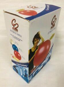 G2 Fitness Stability Pilates Yoga Fitness 55cm Gym Exercise Anti Burst Core