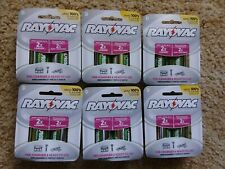 Rayovac Pl713-2 Gene Precharged Recharg. Battery,D,NiMh, 6 two packs