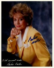BARBARA WALTERS In-person Signed Photo