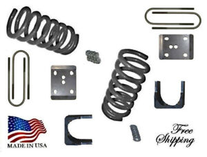 "Fits 1965-1979 F100 3""-6"" Lowering Springs Axle Flip Lowering Kit 2.75 axle xzx"