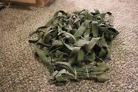lot of 6 Unissued Vietnam sleeping bag carrier straps mint 1967 68