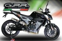 KTM DUKE 790 EXHAUST STAINLESS DEEPTONE BY GPR EXHAUSTS ITALY
