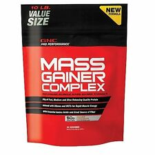 GNC Pro Performance Mass Gainer Complex Protein Double Chocolate 10LB VALUE SIZE