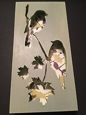 Demdaco The Nathan Murrell Collection 6 x 12 Birds On Branch Shadow Box Plaque