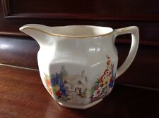 Swinnertons Old England Gardens, Vintage Hampton Ivory milk jug/gravy boat GC