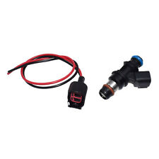 FUEL INJECTOR 12580681&Pigtail Wire For 2004-2010 CHEVY GMC 4.8 5.3 6.0 6.2 V8