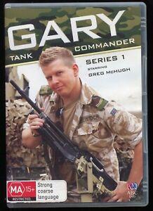 Gary Tank Commander Season 1 (DVD TV Comedy Series) BBC Region 4