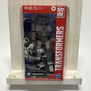 """Transformers R.E.D. 2020 Megatron 6"""" Action Figure  Hasbro Red New Sealed"""