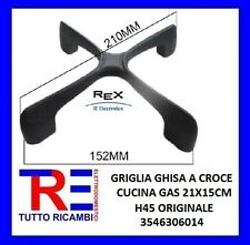 GRIGLIA GHISA SMALTATA NERA CUCINA A GAS ELECTROLUX REX ZANUSSI AEG 3546306014