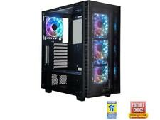 ROSEWILL CULLINAN MX Tempered Glass RGB ATX Mid Tower Computer Case with Remote
