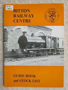 Bitton Railway Centre (Avon Valley Railway, Bristol) - Guide Book & Stock List