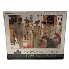 """Downton Abbey """"The Flower Show"""" 1000 Piece Jigsaw Puzzle New Sealed"""