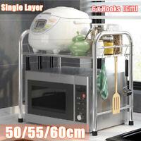 60CM Stainless Steel Kitchen Microwave Oven Rack Organizer Storage Stand  T K