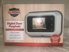 JB7688 U.S. PATROL As Seen On TV Plastic Digital Door Peephole