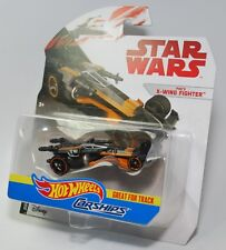 Hot Wheels Star Wars Carships POE'S X-WING FIGHTER Great for Tracks NEW