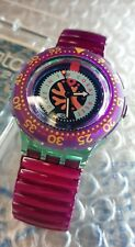 ☆ Swatch Scuba 1993 - SDG102 - Cherry Drops - NEW