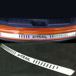 For Nissan X-Trail T32 Accessory Stainless Rear Bumper Protector Guard Sill Trim