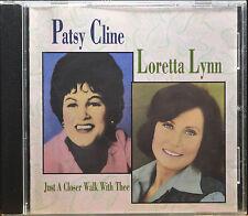 Just a Closer Walk with Thee by Loretta Lynn/Patsy Cline [Canada-MCA 1992]- NM/M