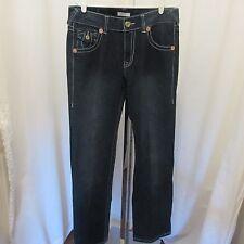 True Religion Mens Jeans World Tour Limited Edition  0001-1205 Size 34 Dark Wash