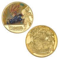 for Super Saiyan 1 Vegeta Dragon Ball Super Gold Commemorative Coin BEGATA