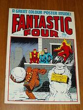 FANTASTIC FOUR #12 MARVEL BRITISH WEEKLY 22 DECEMBER 1982