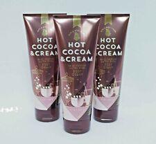 Bath & Body Works Hot Cocoa & Cream Ultra Shea Body Cream Set of 3
