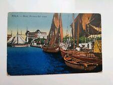 Pola - Postkarte Illustrierte A Farben Nicht Reiste (Cro 31)