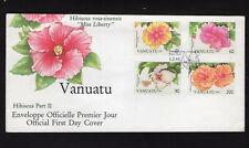ORCHIDS, VANUATU 1995, FDC, VF