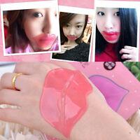 1/5/10Pcs Anti Ageing Pink Collagen Crystal Lips Gel Mask Membrane Moisture Lip