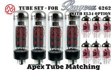 Tube Set - for Bugera 6262 with EL34 matched set  JJ Tesla valve vacuum tubes