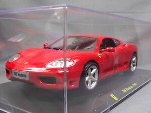 Ferrari Collection 360 Modena 1999 1/24 Scale Box Mini Car Display Diecast vol 1