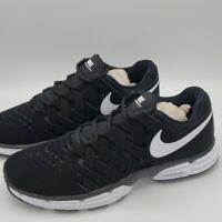Nike Lunar Fingertrap TR Trainer Shoes Black White Men's Size 10.5