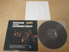 Canned Heat ~ Boogie With Canned Heat/ Japan Orig Red Color LP/ Sheet