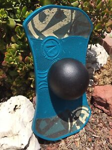 1980-90s ZB FREESTYLE BOARD Bounce Balance Skate Surf Trainer Pogo Ball VGU HTF