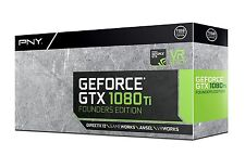 PNY GeForce GTX 1080 TI Founders Edition VCGGTX1080T11PB-FE Video Graphic Cards